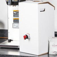 LBP 7152 3 Gallon White Catering Beverage Dispenser - 10/Case