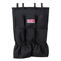 Suncast HKCBAG04D Black 8-Pocket Organizer for Cleaning Carts