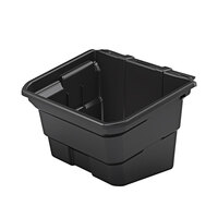 Suncast BIN17102 4 Gallon Black Waste Bin for Utility Carts - 2/Pack