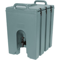 Cambro 1000LCD401 Camtainers® 11.75 Gallon Slate Blue Insulated Beverage Dispenser