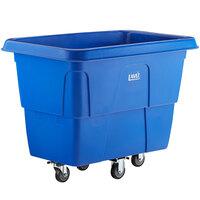 Lavex Industrial 12 Cubic Foot Blue Cube Truck (600 lb. Capacity)