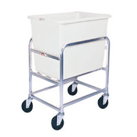 Winholt 30-6-SS/WH Stainless Steel Bulk Mover with 6 Bushel White Tub