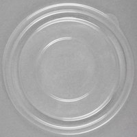 Sabert 51016A500 FreshPack Clear Flat Round Lid for 8, 12, and 16 oz. Bowls - 500/Case