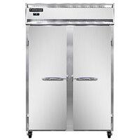 Continental Refrigerator 2FSN 52 inch Solid Door Shallow Depth Reach-In Freezer