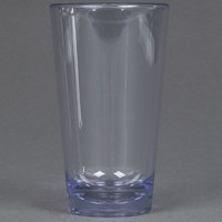Carlisle 561607 Alibi 16 oz. SAN Plastic Pint / Mixing Glass - 24 / Case