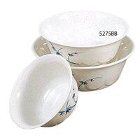 Blue Bamboo Melamine 34 oz. Scalloped Bowl – 7 1/4 inch 12 / Pack