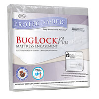 Protect-A-Bed BugLock Plus Zippered Twin Size Mattress Encasement - 35 inch x 75 inch x 8 inch