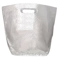 12 inch x 9 inch x 16 inch Insulated Delivery Bag with Handles   - 25/Case