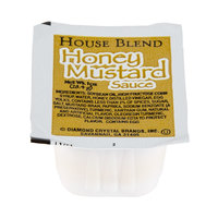 Honey Mustard Sauce 1 oz. Portion Cup - 100/Case