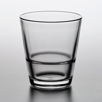 Pasabahce 52060-024 Grand-Stack 10.5 oz. Stackable Fully Tempered Rocks Glass - 24/Case