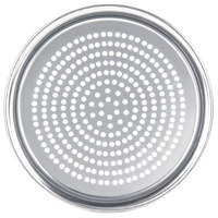 American Metalcraft SPHATP16 16 inch Super Perforated Heavy Weight Aluminum Wide Rim Pizza Pan