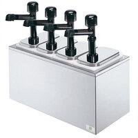 Server SR-4 79870 Solution 4 Pump Countertop Condiment Dispenser