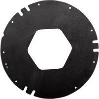 San Jamar XC2422MBK Black Medium Replacement Gaskets for Euro EZ-Fit C2410 Cup Dispenser   - 3/Pack