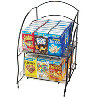 Cal-Mil 639 Wire Countertop Cereal Organizer - Holds 48 Mini Cereal Boxes