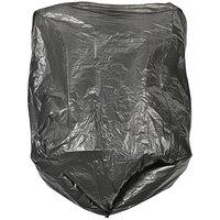 Ex-Cell Kaiser LB-1718 BLK 4-7 Gallon Black Sanitary Napkin Liner Bags for Ex-Cell 205 Receptacles   - 1000/Case
