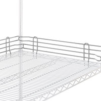 Metro L72N-4C Super Erecta Chrome Stackable Ledge 72 inch x 4 inch