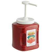 Red Gold Fancy Ketchup 114 oz. Plastic Jug with Pump - 6/Case