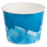 Lavex Lodging 10 lb. Disposable Paper Ice Bucket - 25/Pack