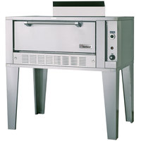 Garland G2121 Natural Gas 55 1/4 inch Single Deck Roast Oven - 40,000 BTU