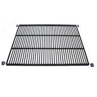 True 909156 Black Coated Wire Shelf - 22 9/16 inch x 23 1/4 inch