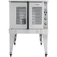 Garland MCO-ES-10 Single Deck Standard Depth Full Size Electric Convection Oven - 208V, 1 Phase, 10.4 KW