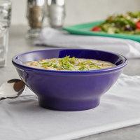 Tuxton BCB-2508 25 oz. Cobalt China Menudo / Salad Bowl - 12/Case
