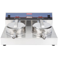 Nemco 7030A-2 Waffle Cone Maker - Double Grid, 240V