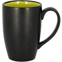 RAK Porcelain FRBAFM30GR Fire 10.15 oz. Green Porcelain Flora Mug - 6/Case