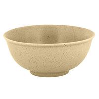 RAK Porcelain GNNNBW12AL Genesis Mat 9.15 oz. Silky Almond Round Porcelain Bowl - 12/Case