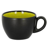 RAK Porcelain FR116C20GR Fire 6.75 oz. Green Porcelain Coffee Cup - 12/Case