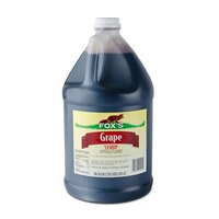 Fox's Grape Drink Concentrate - (4) 1 Gallon Containers / Case