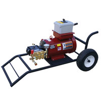 Cam Spray 208X X Series Portable Electric Cold Water Pressure Washer with 50' Hose - 2000 PSI; 8 GPM