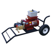 Cam Spray 2555X X Series Portable Electric Cold Water Pressure Washer with 50' Hose - 2500 PSI; 5.5 GPM