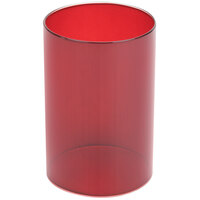Sterno Products 85292 Red Cylinder Globe
