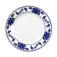 Thunder Group 1007TB Lotus 6 7/8 inch Round Melamine Plate - 12/Pack