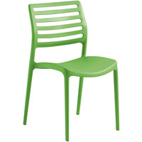 Lancaster Table & Seating Allegro Pistachio Resin Side Chair