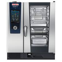 Rational iCombi Pro 10 Pan Half-Size Liquid Propane Combi Oven - 208/240V, 1 Phase