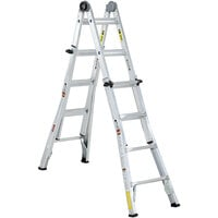 Cosco 20218T1ASE Aluminum Telescoping 18' Max Reach Multi-Position Ladder