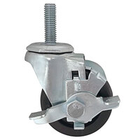 Continental Refrigerator 50301 Stem Swivel Caster with Brake