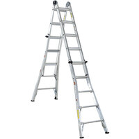 Cosco 20222T1ASE Aluminum Telescoping 22' Max Reach Multi-Position Ladder