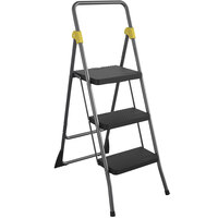 Cosco 11839GGO Commercial Gray 3-Step Folding Step Stool