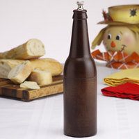 Chef Specialties 09050 Professional Series 9 1/2 inch Customizable Beer Bottle Pepper Mill