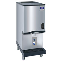 Manitowoc CNF0201A-161N 16 1/4 inch Air Cooled Countertop Nugget Ice Maker / Water Dispenser - 10 lb. Bin with Sensor Dispensing - 115V