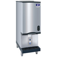 Manitowoc CNF0202A-161N 16 1/4 inch Air Cooled Countertop Nugget Ice Maker / Water Dispenser - 20 lb. Bin with Sensor Dispensing - 115V