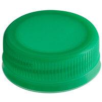 Green Tamper-Evident Cap for Juice Bottles - 2500/Case