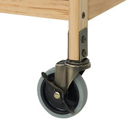 Foundations 1966187 First Responder Evacuation Kit 4 inch Steel Swivel Plate Casters for SafetyCraft Cribs