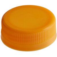 Orange Tamper-Evident Cap for Juice Bottles - 2500/Case