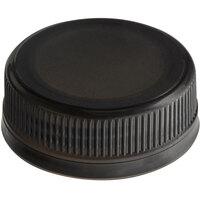 Black Tamper-Evident Cap for Juice Bottles - 2500/Case