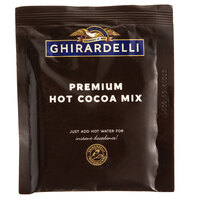 Ghirardelli 0.95 oz. Premium Hot Cocoa Mix Packet - 250/Case