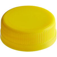 Yellow Tamper-Evident Cap for Juice Bottles - 2500/Case